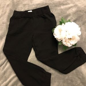 Wilfred Black Cropped Pants in Small